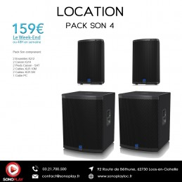Location PACK SON 4