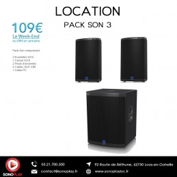 Location PACK SON 3