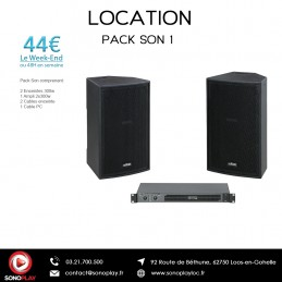 Location PACK SON 1
