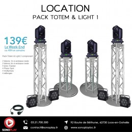 Location PACK TOTEM & LIGHT 1