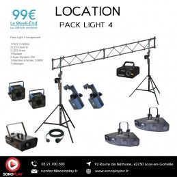 Location PACK LIGHT 4